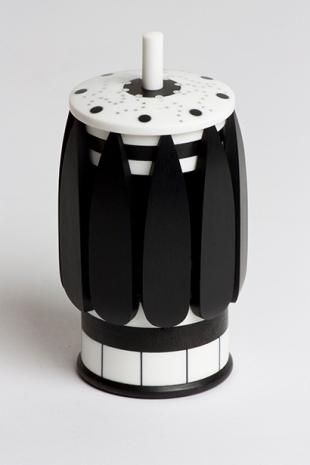 Fingertip Control - Ebony, Corian, Silver - $1,250