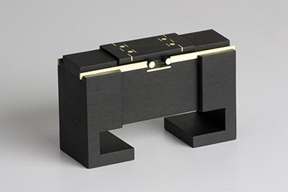 Kyoto - Ebony, Brass - $550
